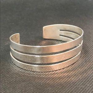 James Avery triple bar cuff bracelet